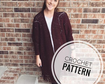 Copeland Cardigan Crochet Pattern