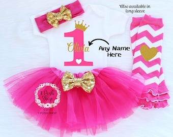 Personalized First Birthday Outfit Girl, 1st Birthday Girl Outfit, Girl First Birthday Outfit Girl, 1st Birthday Girl, Cake Smash BF30