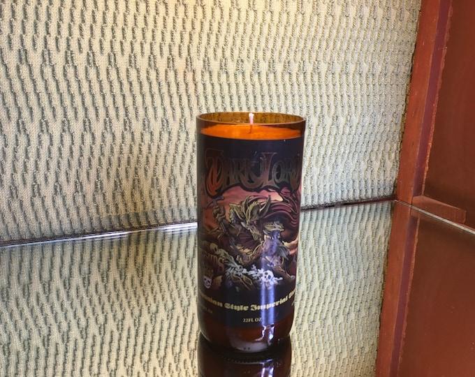 DARK LORD!!!!! Three Floyds Brewery DLD 2009 Soy Indian Sandalwood Candle