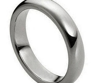 Polished Shiny Domed Ring – 4mm
