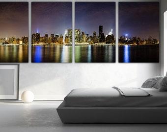 New York Skyline, New York, New York City, New York Art, Manhattan, Manhattan skyline, Manhattan Art, nyc wall art, nyc print, nyc skyline