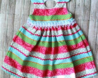 Whimsical Stripes Dress
