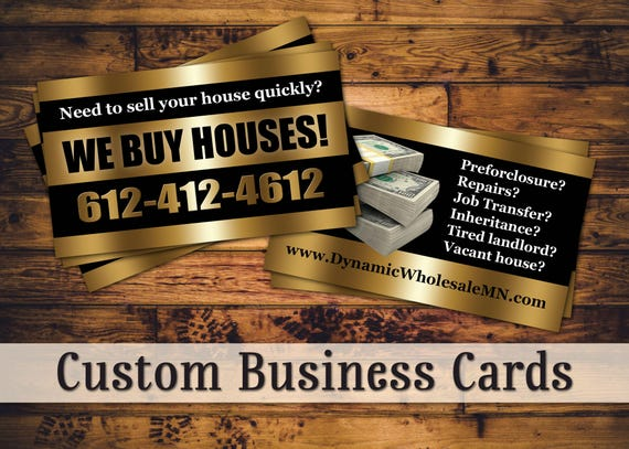 Custom business cards gold pop colourmoves