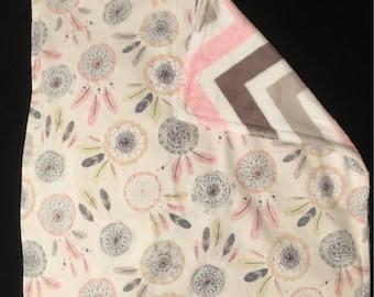 Baby Girl Lovey Blanket