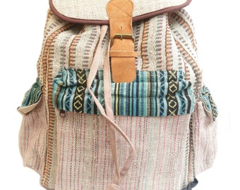 Hemp Retro Travel Bag