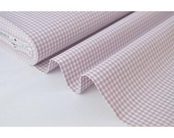 Tissu vichy petits carreaux 100%coton PARME  .x1m