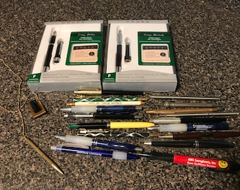 Assorted Pens & Pencils
