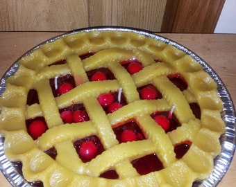 9' Coutry Lattice Cherry Pie candle