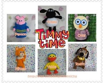 Timmy and friends - PDF crochet pattern