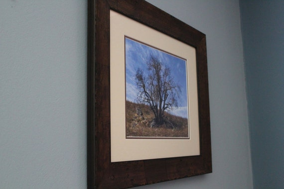 Solitude--matted framed nature photo