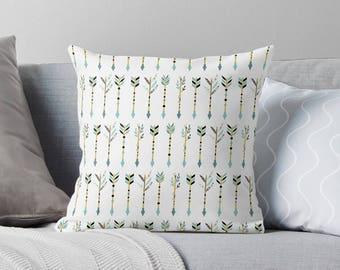Arrow Pillow | Arrow Throw Pillow | Tribal Pillow | Tribal Throw Pillow | Arrow Decor | Tribal Decor | Accent Pillow