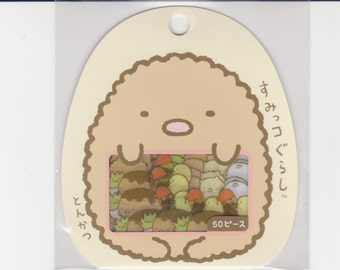 Sumikko Gurashi Stickers - Flake Stickers - 50 pieces in 10 designs - Reference A3112
