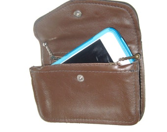 Leather iPhone 7 Holder/ Belt Pouch for iPhone 6 Plus/ Phone Case for Samsung Galaxy/ The Tommy