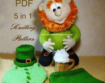 Free Amigurumi Leprechaun Pattern : Knitting pattern doll pippi longstocking doll knitting