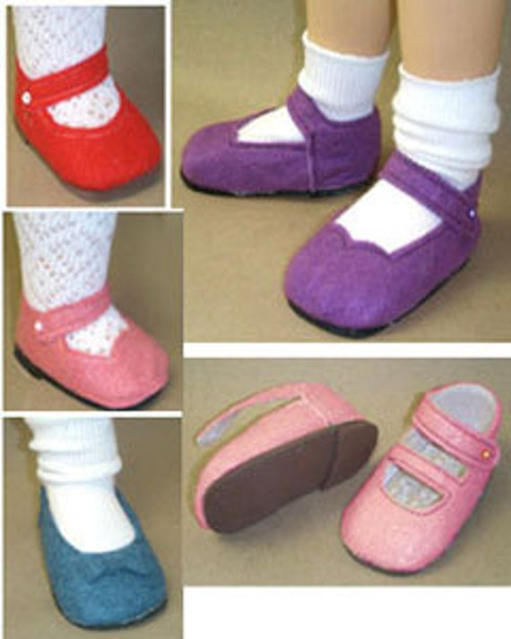 Doll Shoes Pattern Sasha Shoe Pattern Felt Shoes Sewing
