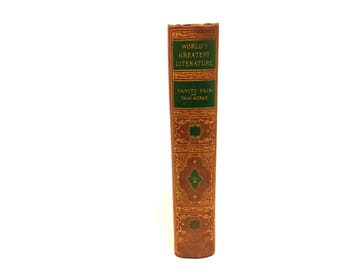 Vanity Fair by William Makepeace Thackeray.Vanity Fair: A Novel Without a Hero. The Spencer Press 1936.Book