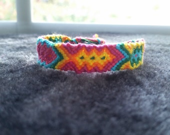 Fiesta friendship bracelet