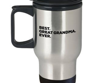 Best Great-Grandma Ever, Great-Grandma Gifts, Stainless Steel, Insulated Tumblers, Anniversary Gift, Birthday Gift, Gifts from Great-Grandma