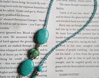 Beaded Thong bookmark