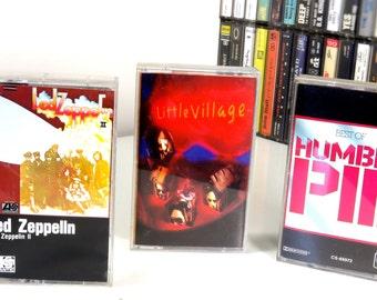 Little Village, vintage music cassette