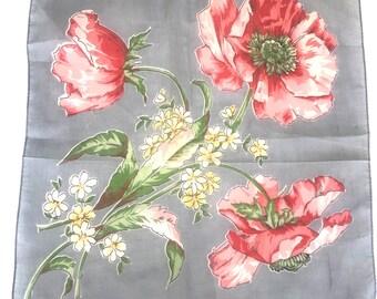 Vintage Flora Handkerchief