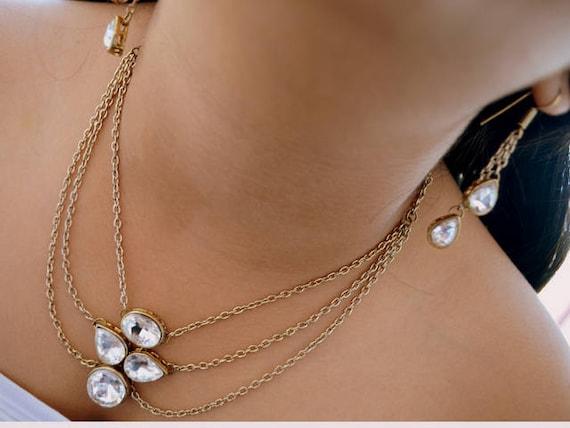 wedding jewelry set indian wedding jewelry for kids kundan