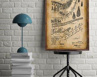 Snow Maker Patent| Winter Sports| Mountain Home Decor| Gift for Snowboarder| Snowboard Art| Ski Poster| Snowboarding| Ski Patents| HPH497