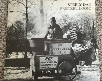 Steely Dan - Pretzel Logic; 1974 Original Vinyl; Vintage Record