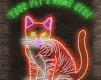 Your Pet (Or Loved One) in Neon