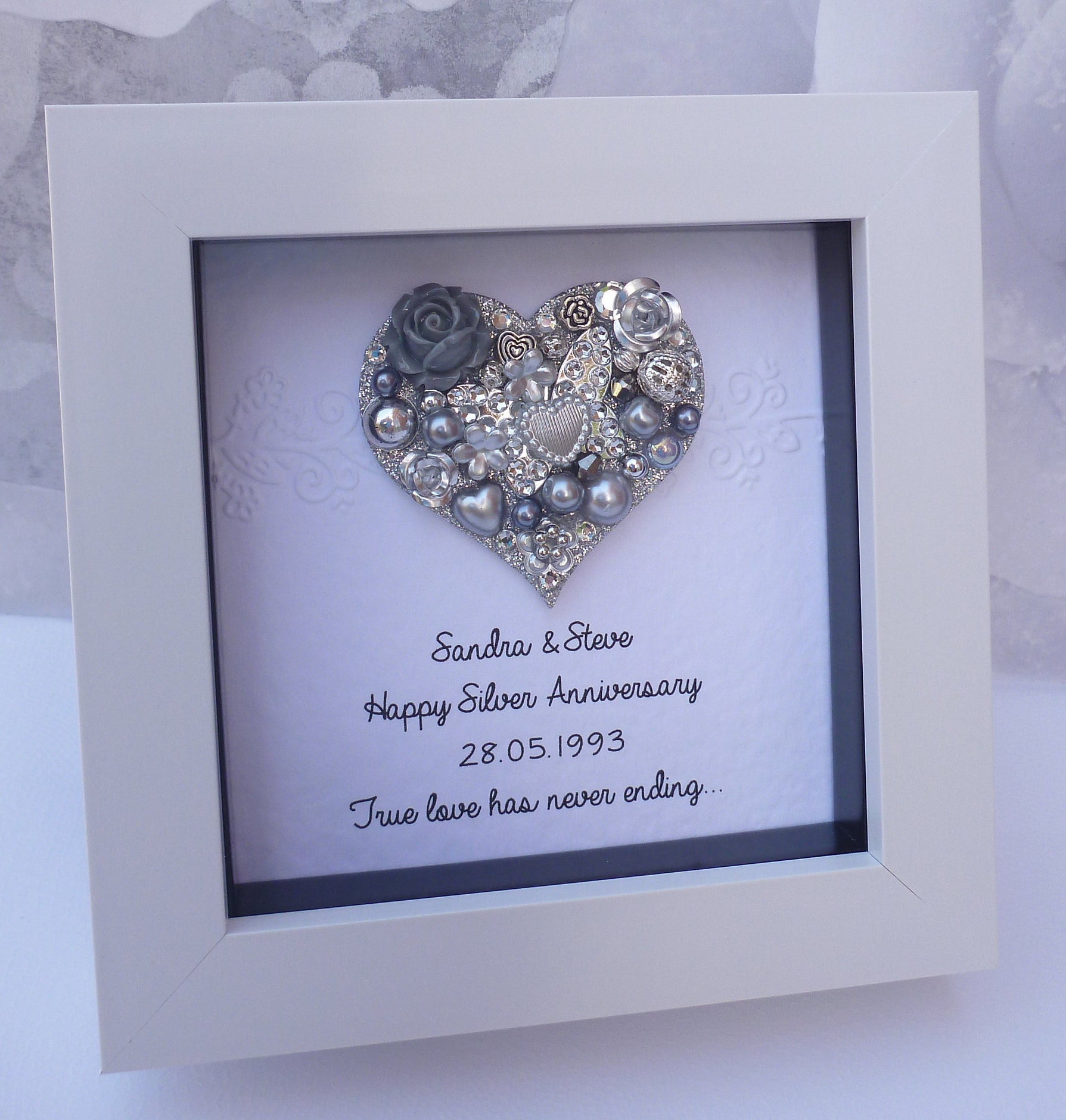 Ideas For 25th Wedding Anniversary Gift: 25th Anniversary Gift 25th Wedding Anniversary Gift25th