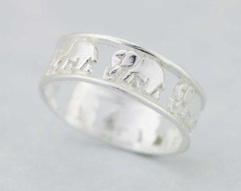 Elephant ring Etsy