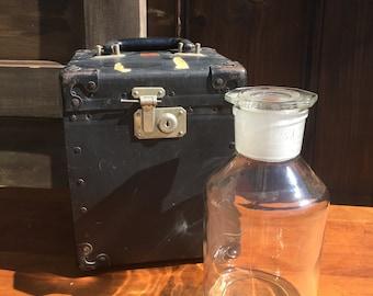 Antique Glass Apothecary Jar