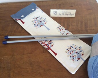 Knitting needle case, Knitting needle Storage,Mother's Day gift, Birthday gift, Christmas gift.