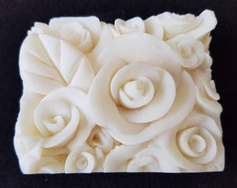 White Rose Natural Soap