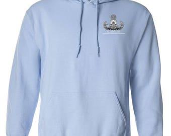 Master Rated Explosive Ordinance Disposal -EOD Embroidered Hooded Sweatshirt-7723