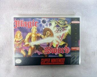 Magic Sword Custom SNES - Super Nintendo Case Only (***No Game***)