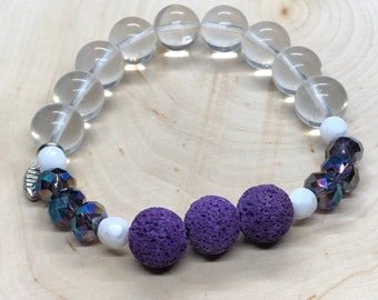 Purple Mystic Diffuser Bracelet