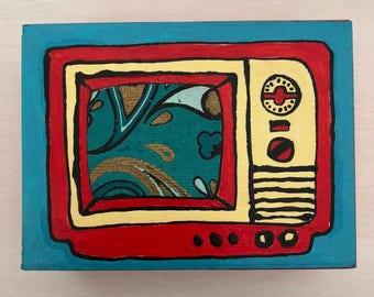 Television Mini Collage