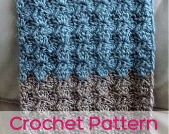 Scallop Scarf - Crochet Pattern