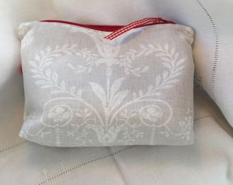 Handmade make up/ gadget pouch