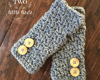 Easy crochet pattern, crochet pattern, fingerless gloves, crochet gloves pattern, fingerless mittens, customizable, STELLA FINGERLESS GLOVES