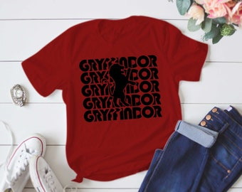 Gryffindor House T-Shirt/ Gryffindor Shirt/ Hogwarts Shirt/ Harry Potter Shirt/ Harry Potter/ Gryffindor/ Hogwarts