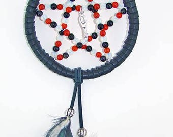 Maid, Mother, Crone - Triple Goddess -  Pentagram Dream Catcher