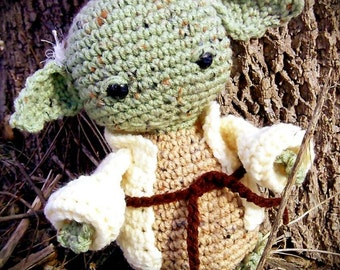 Star Wars Inspired Yoda; CROCHET PATTERN PDF