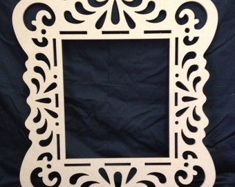 Awesome Unfinished Wooden Frame  Alice