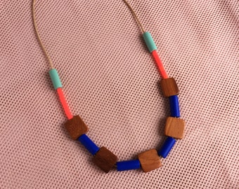 Big Block Necklace