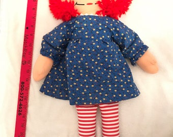 SALE!! Playskool Raggedy Ann Cloth Doll