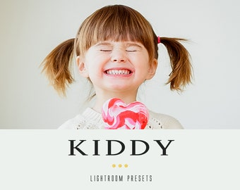 Kiddy professional lightroom presets