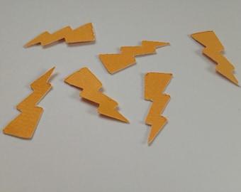 Lightening Bolt Table Confetti/Super Hero/Party Decor