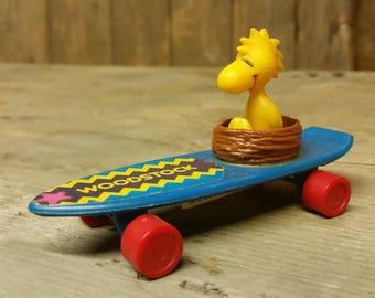 Woodstock on a skateboard by Aviva 1970s
